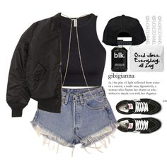• Princess... • by fuckedchanel on Polyvore featuring polyvore fashion style H&M Levi's Vans River Island Boohoo