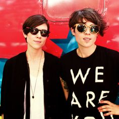 Makeout sesh. with both Tegan and Sara..at the same time.