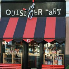 Outsider Tart- award-winning boutique bake shop in Chiswick, West London was voted Cafe/Fast Food Outlet of the Year at the 2010 Restaurant & Bar Design Awards and named a 2010 cultural hot spot by the Observer newspaper- can also be found at The Real Food Market, South Bank