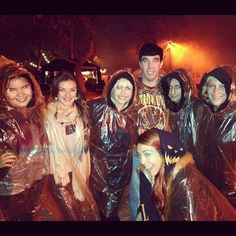 We got soaked! #hauntedhayride