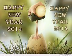 Funny image happy new year 2014