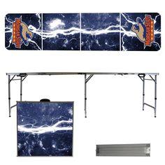 Morgan State University Bears Lightning Bolt Portable Folding Table