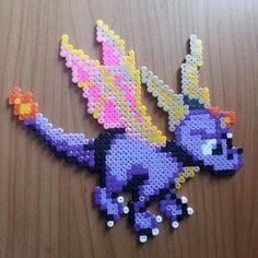 Spyro hama beads by wickedyuki