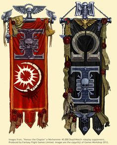 Deathwatch banners