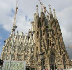 Sagrada Família Barcelona Spain New York Skyline, Barcelona, Travel, Sagrada Familia, Viajes, Barcelona Spain, Destinations, Traveling, Trips