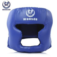 Wansda Unisex Helmet Head Guard Protector Boxing Head Guard Elastic EVA sponge for Boxing Wrestle Taekwondo Lightweight