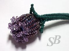TUTORIAL Bud or Poppy Center - over 14mm bead