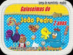 SV Imagem Personalizados - Silmara Vintem: Marmitinha Personalizada no Tema Galinha Pintadinha