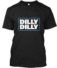 Bud Light Official Dilly Dilly T Shirt Black T-Shirt Front