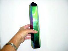 Giant titanium quartz wand...