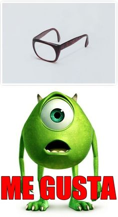 Me Gusta. Monsters Inc. cartoon.