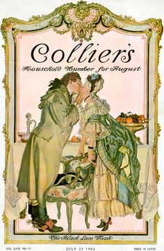 Collier's 1903-07-25. Cover by Frank X. Leyendecker