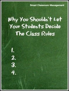 """Great reminder of how our students need clear boundaries - """"buy-in"""" can occur while discussing the why behind our rules, but as teachers we set the expectations... good classroom management"""