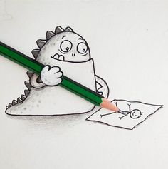 Bangladeshi cartoonist Manik n Ratan has created a series of adorable illustrated characters that interact with everyday objects…