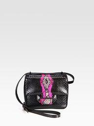 Reed Krakoff Standard Mini Python Shoulder Bag