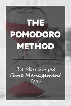 If you're ready to manage your time, try the Pomodoro Method! Not sure what that is? Here's how it works...
