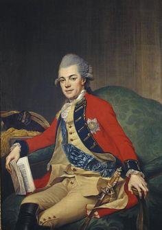 1770 Johann Georg Ziesenis - Carl Ludwig Friedrich, Duke of Mecklenburg-Strelitz, later Carl II, Grand Duke of Mecklenburg-Strelitz