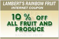Lambert's Rainbow Fruit in Westwood, Dorchester, and Brockton MA