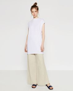 Image 1 of MAXI TOP from Zara