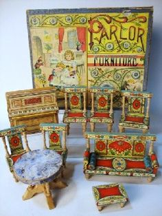 R. Bliss Parlor Furniture In Original Box