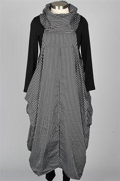 Dress To Kill - Cowl Dress - Navy & Taupe $385