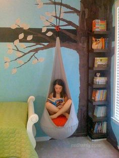Reading tree hammock idea
