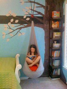 Reading tree hammock idea