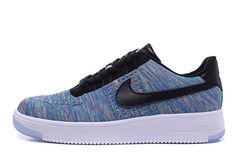 Nike Air Force 1 Flyknit Low Multicolor Runing Shoes #Nike #RunningCrossTraining