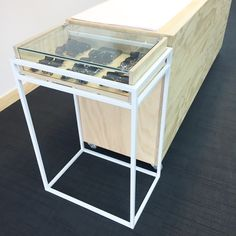 Jewellery cabinets made from mild steel