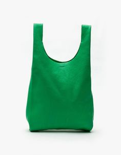 Small Leather Bag in Jade