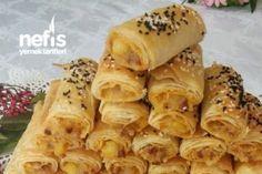 Çıtır Çıtır Kıymalı Patatesli Börek (Tadı Damakta Kalan) Tarifi