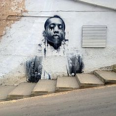Conor Harrington mural, Mallorca, Spain (via StreetArtNews)