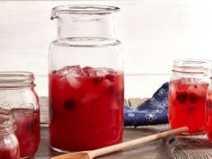 Raspberry Lemonade : Ree takes lemonade to another level by adding raspberries. You can use fresh or frozen berries to make this any time of year.