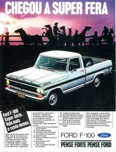 1980 Ford F100 - Brazil