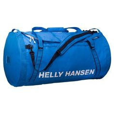 Helly Hansen 90-Liter Duffel Bag ($140) ❤ liked on Polyvore featuring bags, luggage and racer blue