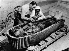 On November 22, 1922 Howard Carter found Tutankhamen's (King Tut's) tomb.