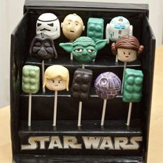 Awesome Star Wars cake pops by My Wey Of Life | 10 Creative Cake Pops ~ Tinyme Blog