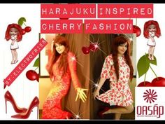 @OASAP #Harajuku #inspired #cherry #fashion #video : https://www.youtube.com/watch?v=Rz1IaEICpAY Coupon code: ZZQTBROU  20%OFF Expires: 1/14/2016 Cherry outfit: http://www.oasap.com/matching-sets/55374-cherry-graphic-crop-tee-skirt-set.html/?electrofries  Red Lace Dress: http://www.oasap.com/matching-sets/52948-red-lace-open-back-long-sleeves-maxi-skirt-set.html/?electrofries