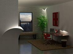 Torn wall lights