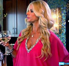 Alexia Echevarria's Pink Embellished Blouse | Big Blonde Hair : Big Blonde Hair http://www.bigblondehair.com/real-housewives/alexia-echevarrias-pink-embellished-blouse/