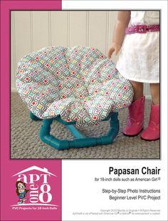 Papasan Chair PVC Pattern
