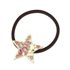 Disney Store Japan August 2014: Minnie gem star pony hair tie love the subtle disney 648 yen