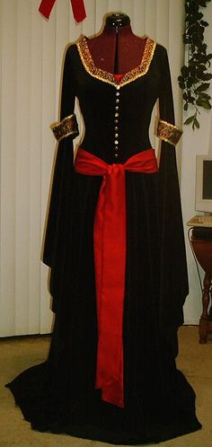 Arwen's Mourning Gown from LotR