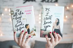 To all the boys I've loved before (Jenny Han) + presente surpresa - Serendipity Ya Books, I Love Books, Good Books, Books To Read, Amazing Books, Lara Jean, Jenny Han Books, I Still Love You, Book Aesthetic