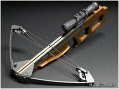 HOMEMADE CROSSBOW (crossbow, can, hand, make, Lodge, bow)