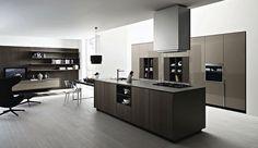 This Alnoart Pro Kitchen Creates A Modern Feel To Quite A Alluring Pro Kitchen Design Design Ideas