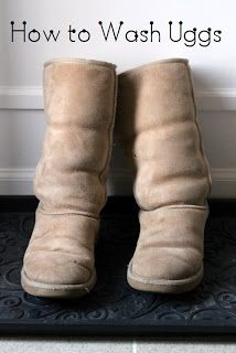 Katie.J.Gibson: How to Wash Uggs