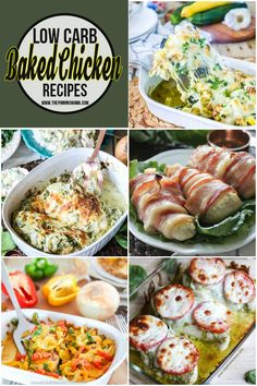 Low Carb Chicken Recipes