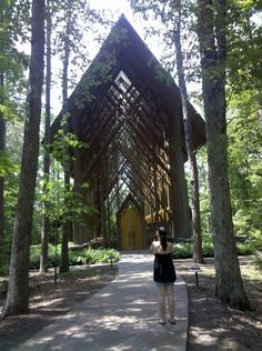 Glass Church, Hot Springs, Arkansas. If I ever get married, it'll be at a place like this.