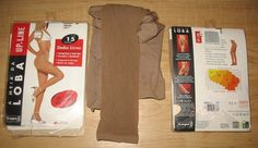 Nylon & Spandex FOOTLESS CONTROL TOP SUPORT PANTYHOSE